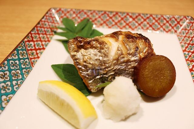 太刀魚の塩焼